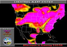 Chemtrail alert for September 25, 2008