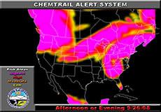 Chemtrail alert for September 26, 2008