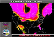 Chemtrail alert for September 28, 2008