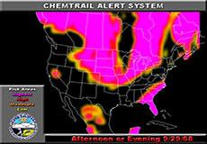 Chemtrail alert for September 29, 2008