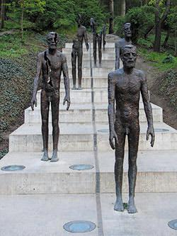 Memorial to the victims of Communism in Prague.