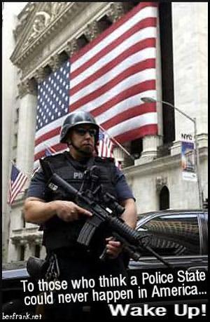 Preemptive Policing, aka Fascist State