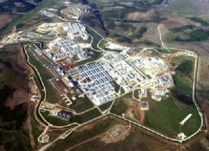 Camp Bondsteel is the main base of U.S. armed forces in Kosovo. It is currently the largest base of its kind in south east Europe and also serves as a NATO headquarters, housing around 7,000 troops.