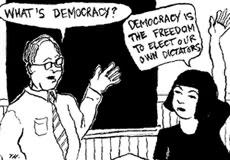Question Democracy: Don't Vote