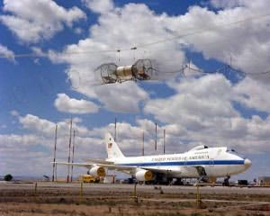 Special Air Force E-4 being tested for EMP shielding.