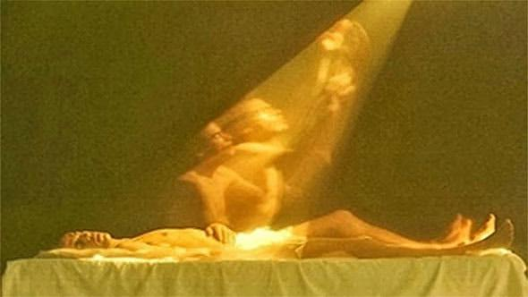 The timing of astral disembodiment in which the spirit leaves the body has been captured by Russian scientist Konstantin Korotkov, who photographed a person at the moment of his death with a bioelectrographic camera.