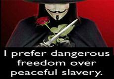 Dangerous Freedom or Peaceful Slavery?