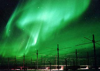 HAARP and the aurora borealis.