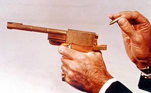 The real golden gun, like the control of all life, is the control and direction of energy. Modern fiat economics itself is a directed energy weapon.