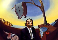 Salvador Dali versus The Matrix