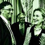 Hillary and Bill … Gates