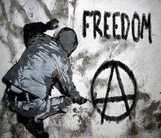 anarchy is order without government war is crime