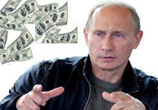 Comrade Moneybags: How Much is Putin Worth?