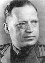 "A REAL WAR CRIMINAL: Col. Robin Stephens was in charge of a sadistic torture program during and after WWII, still largely covered up by the British government. Much of the fabricated ""evidence"" obtained under duress was used as a pretext to convict National Socialist leaders for war crimes."